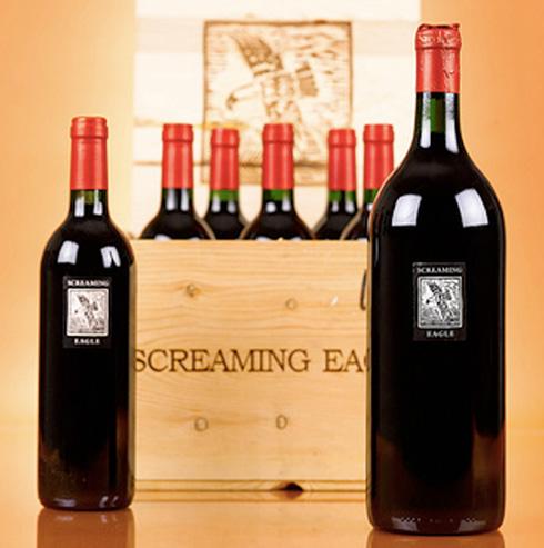 1992 Screaming Eagle - Napa wine