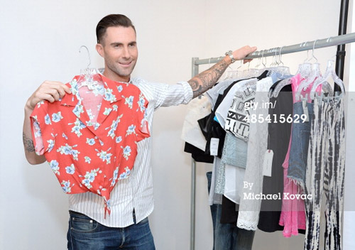 Adam Levine On His Kmart Women's Clothing Line: It's Like Me But