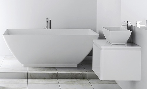 Americh International Roc Collection   Bathtub And Sink