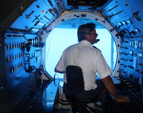 Atlantis Submarine - captain