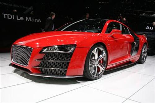 2008 Audi R8 Tdi Le Mans Concept. The Audi R8 V12 TDI Le Mans is