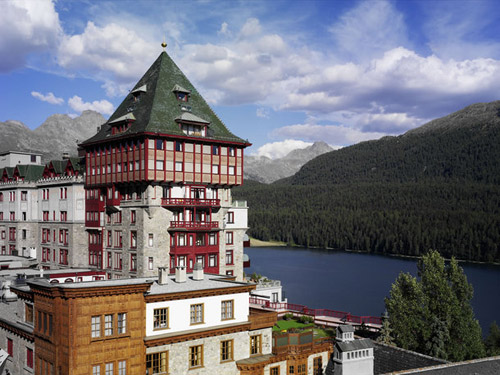 Badrutts Palace Hotel - St. Moritz Switzerland