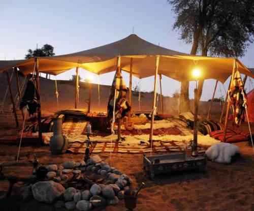 Bedouin Oasis In United Arab Emirates