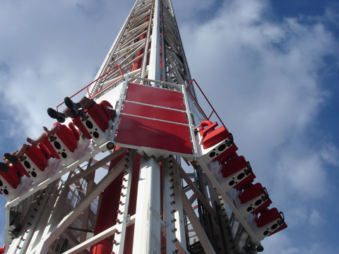 Big Shot At The Stratosphere In Las Vegas