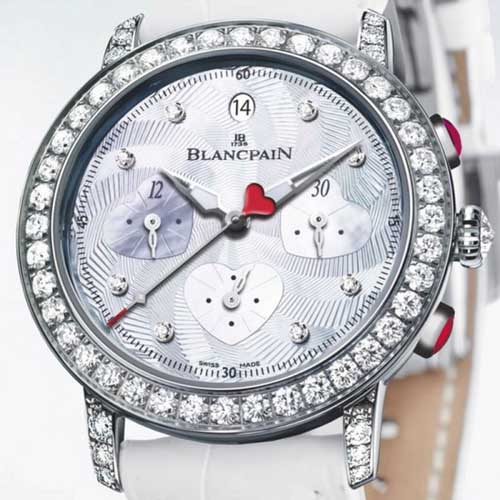 Blancpain 2012 St. Valentin Chronograph Watch