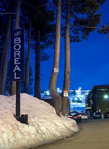 Boreal Mountain Ski Resort - Night Skiing in Lake Tahoe