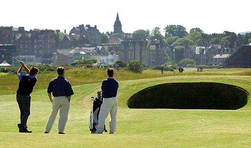 British open and golf