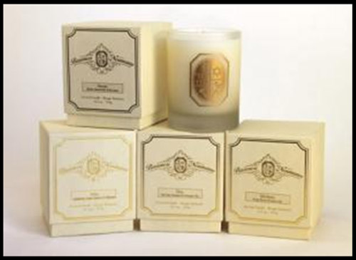 candle collection by Baroness Monica von Neumann