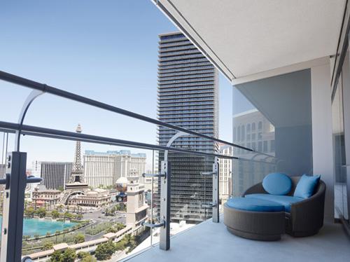 Cosmopolitan Las Vegas Resort terrace view