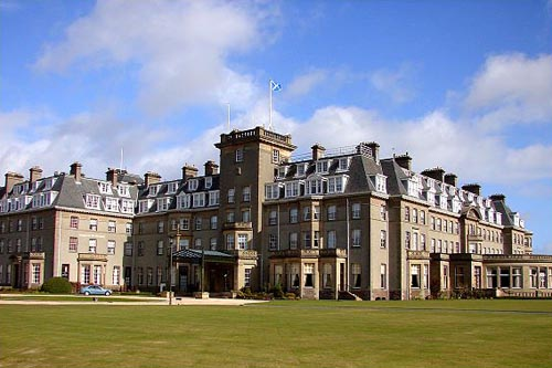The Gleneagles Hotel in Perthshire, Scotland