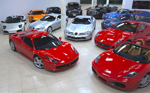 Gotham Dream Cars - luxury car rentals