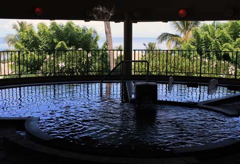 Hotel Wailea spa pool - Maui Hawaii