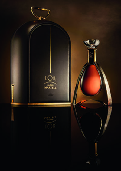 House of Martell cognac - L'OR de Jean Martell Dome