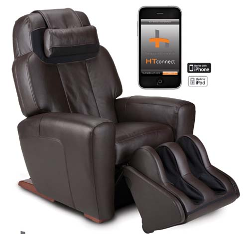 The AcuTouch 9500/HT-Connect massage chair by Human Touch