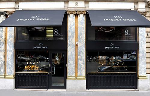 Jaquet Droz - Paris watch boutique