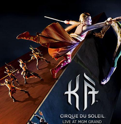 mgm grand cirque du soleil ka