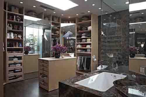 L.A. Closet Design   Lisa Adams Luxury Closet
