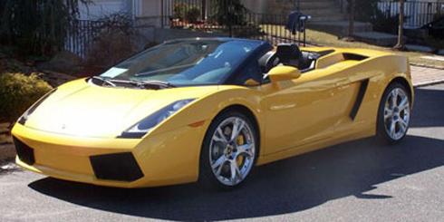 Lamborghini Gallardo - Dream Car Rentals.