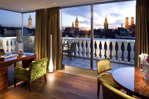 Mandarin Oriental Hotel Munich Germany suite view
