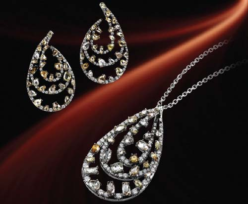 Elegant diamond jewelry collection by michael m for Michael m collection