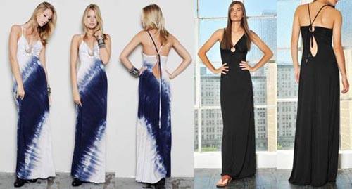 Michelle jonas keyhole maxi dress