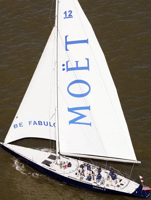 Moet & Chandon America II charter cruise