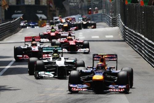 Monaco Grand Prix car race