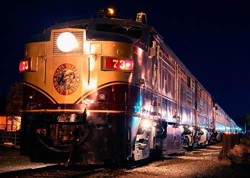 Napa Valley Wine Train - Night