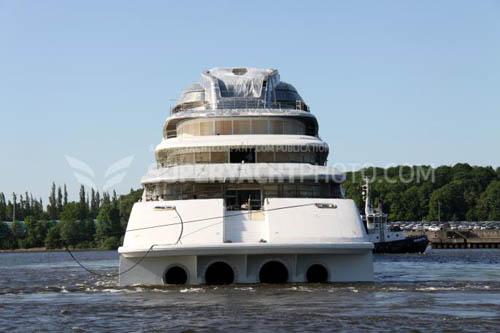 Awaiting The New World S Largest Superyacht Azzam