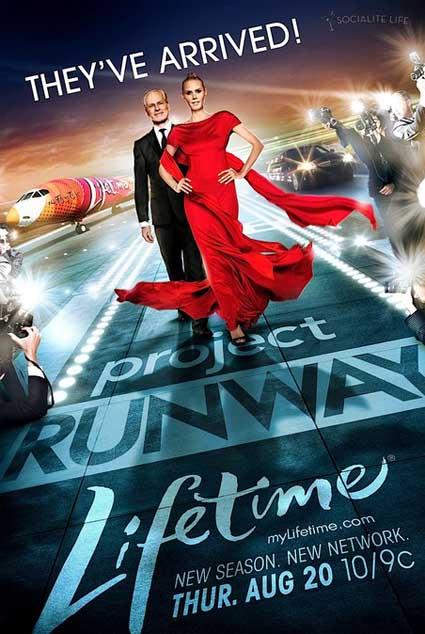 Project Runway - Lifetime host Heidi Klum