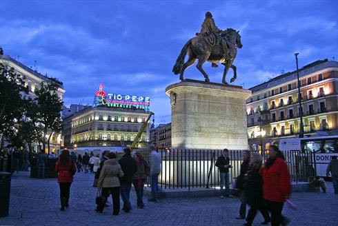 Gate Of The Sun Madrid Spain S Famous Central Square