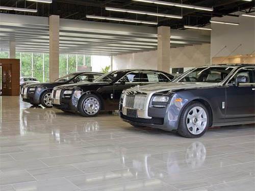 Rolls-Royce showroom Jericho, Long Island
