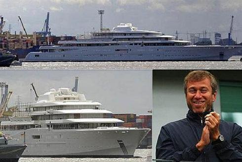 "Roman Abramovich luxury yacht ""Eclipse"""