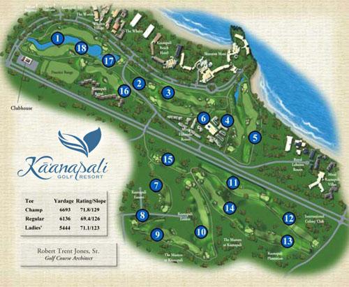 Royal Kaanapali Course  Kaanapali Beach Resort Golfing