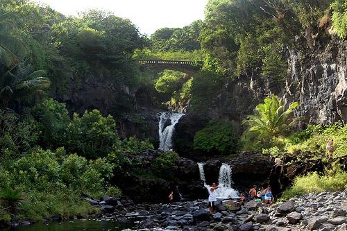 Seven Sacred Pools Maui - Oheo Gulch