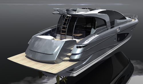 Skycut '86 luxury yacht - exterior