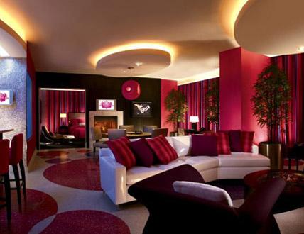 Hugh Hefner Sky Villa At The Palms In Las Vegas