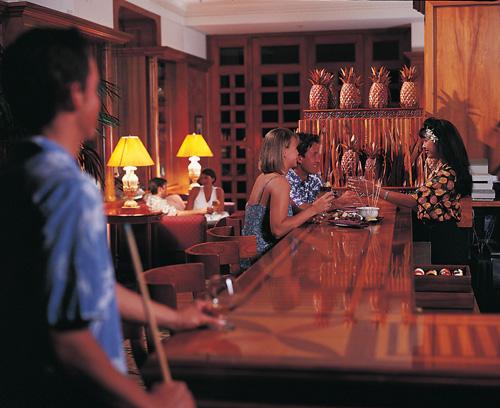 Stevenson's Library Bar Grand Hyatt Kauai
