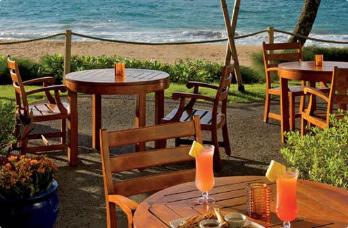 The Beach House restaurant -Ritz-Carlton, Kapalua - Maui