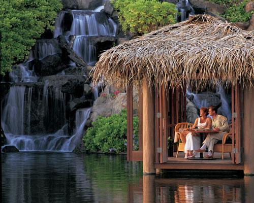 Tidepools Restaurant Waterfall Fine Dining
