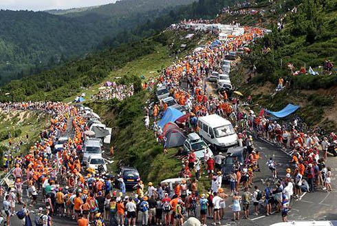 Tour de France bike race