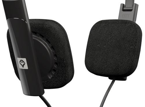 v-JAYS black headphones
