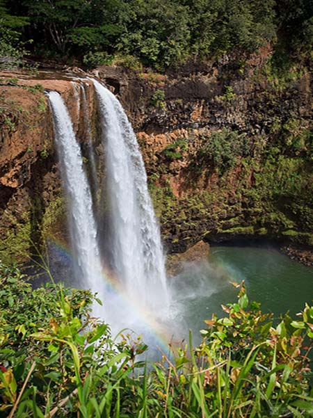 Wailua Falls - Kauai - Fantasy Island