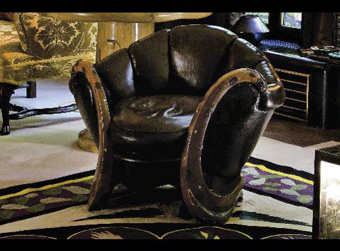 Yves Saint Laurent Dragon Armchair - $28 million