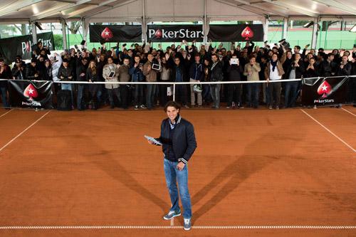 Rafa Nadal tennis star