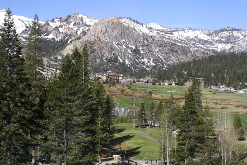 The Resort at Squaw Creek - Squaw Valley view