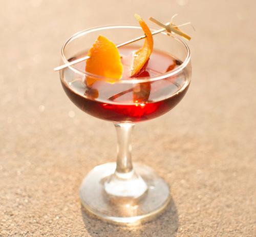 Negroni cocktail - Zacapa Rum