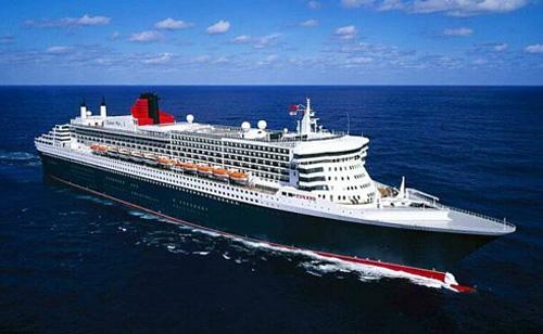 QE2 luxury cruise ship