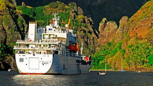 Aranui III luxury cruise ship