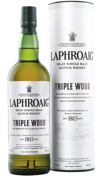 Laphroaig Triple Wood - Single Malt Scotch Whisky